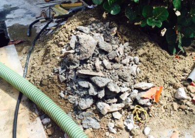 Inwendig reinigen van een septic tank 3